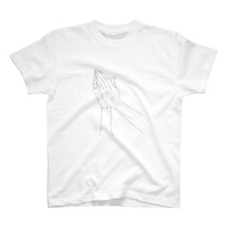 合掌 T-shirts