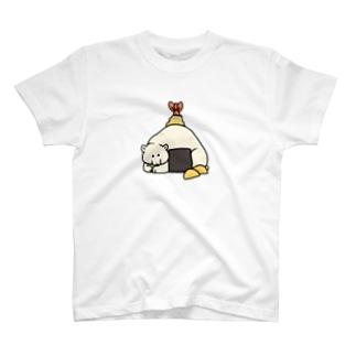 天むすしろくま T-shirts