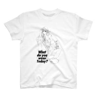 What do you wear today? T-shirts
