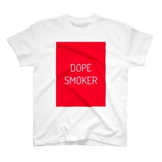 DOPE SMOKER T-shirts