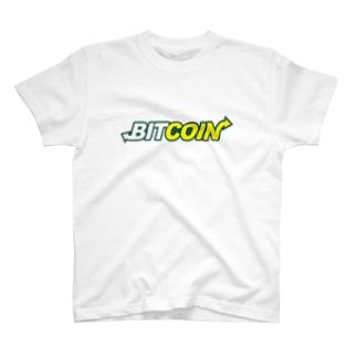 BITCOIN (Subway)Tシャツ T-shirts