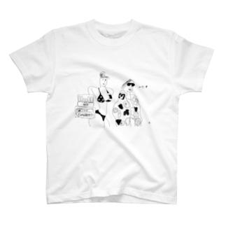 76式メインプリアンプとセクシーガールズ。今年の夏は絶対は絶対焼かない T-shirts