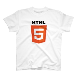 HTML5 Tシャツ T-shirts