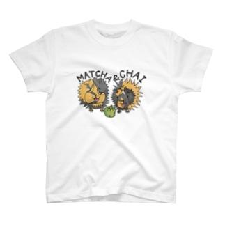 まっちゃ&チャイ T-shirts