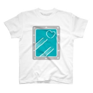 冷凍保存 [Bleu Ciel×Silver]★HAKUDOH T-shirts
