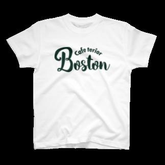 k-lab(ケイラボ)のCafe Terior Boston(G) Tシャツ