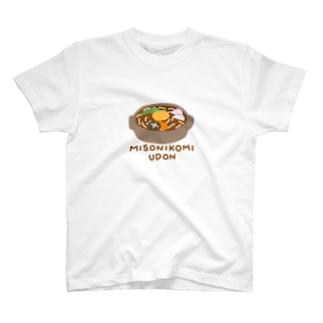 味噌煮込みうどん T-shirts