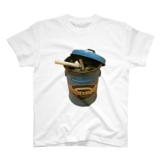 ゴミ箱灰皿 T-shirts