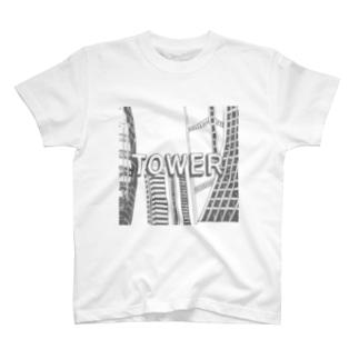 タワー T-shirts