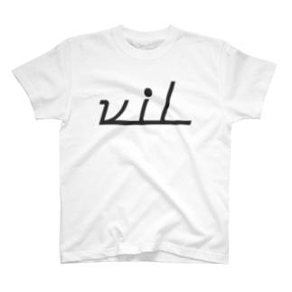 vil Tシャツ T-shirts