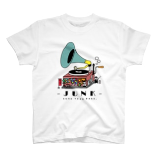 JUNK -LOVE YOUR PAST- T-shirts