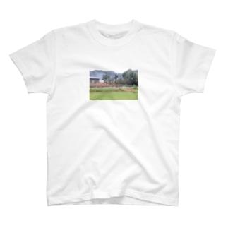 長閑な田舎風景 T-shirts