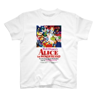 不思議の国のアリス(1951) T-shirts