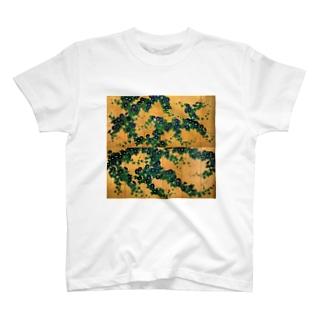 鈴木其一『朝顔図屏風』 T-shirts