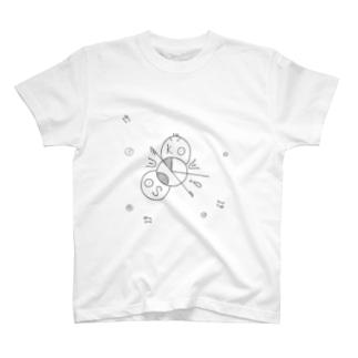 soukouのロゴ T-shirts