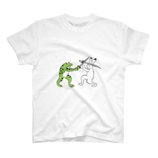 鳥獣戯画 チャンバラ T-shirts