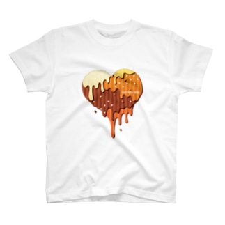 チョコハート T-shirts