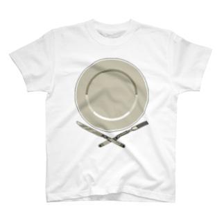 皿のドット絵 T-shirts