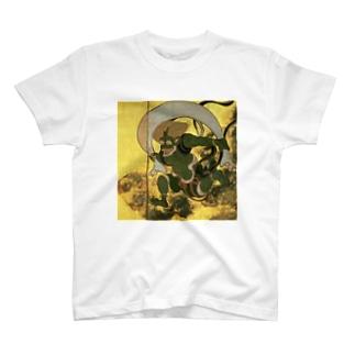 俵屋宗達『風神雷神』の風神 T-shirts