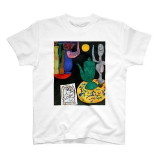 パウル・クレー『 無題 最後の静物 』 T-shirts