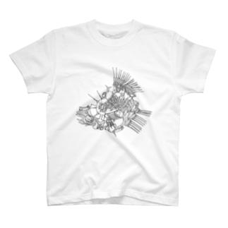 解き放つ T-shirts