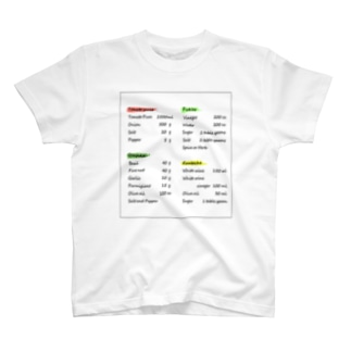 英字デザイン T-shirts