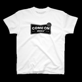 GRASCAのCOME ON T-shirts