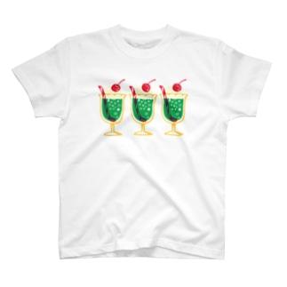 メロンクリームソーダ T-shirts