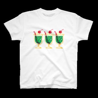 レモネードプールのメロンクリームソーダ T-shirts