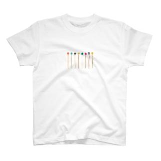 mallet palette T-shirts