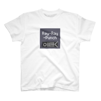 Ray-Ray-Punchロゴ T-shirts