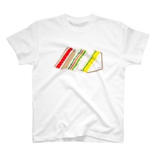 三角サンド3つ T-shirts