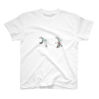 シューゲイザーおばさん T-shirts