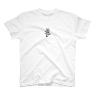 ちゅーたろう(透過処理) T-shirts