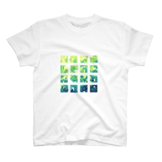 グラデ T-shirts