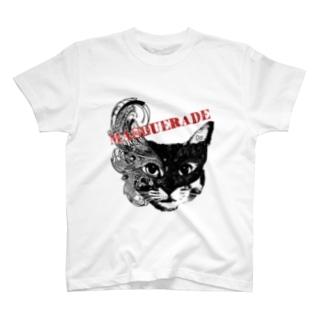 キャット・マスカレード T-shirts