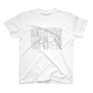 WIRE NET WORK by nisai® T-shirts