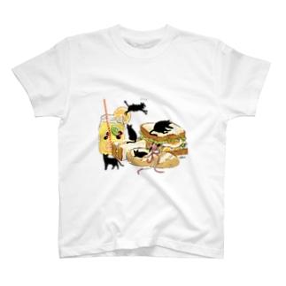 Bread CAT! T-shirts