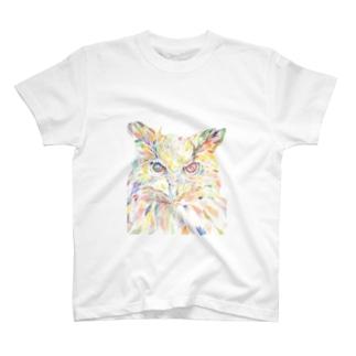 増田未咲のミミズク T-shirts