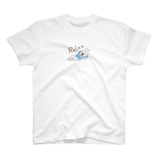 ウサギのウー by NIKUQ WORKSのRelaxなウー T-shirts