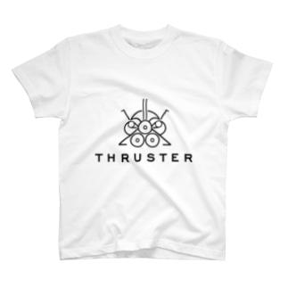 THRUSTER(Black) T-shirts