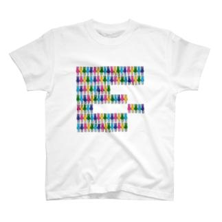 きもきもいうさぎ *ならび* T-shirts