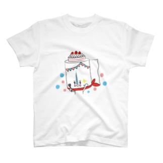 トイレットペーパーマン!party ver. T-shirts