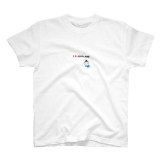 I love airplane T-shirts