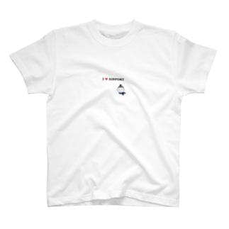 I love airport2 T-shirts