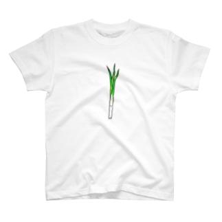 ネギ T-shirts
