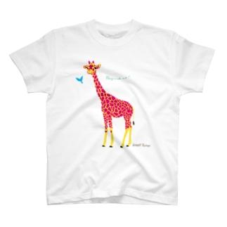 なかよしキリン T-shirts