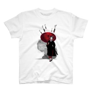 対空防御芸者 T-shirts