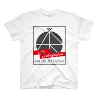 ABC「staff photographer」ロゴ T-shirts