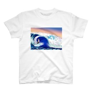 海を駆ける者たち T-shirts